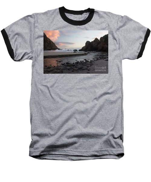 Baseball T-Shirt featuring the photograph In The Pink by Suzanne Luft