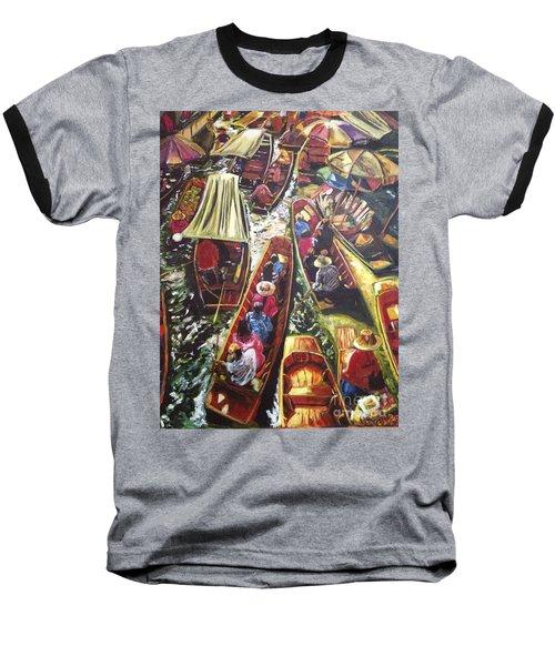 In The Same Boat Baseball T-Shirt