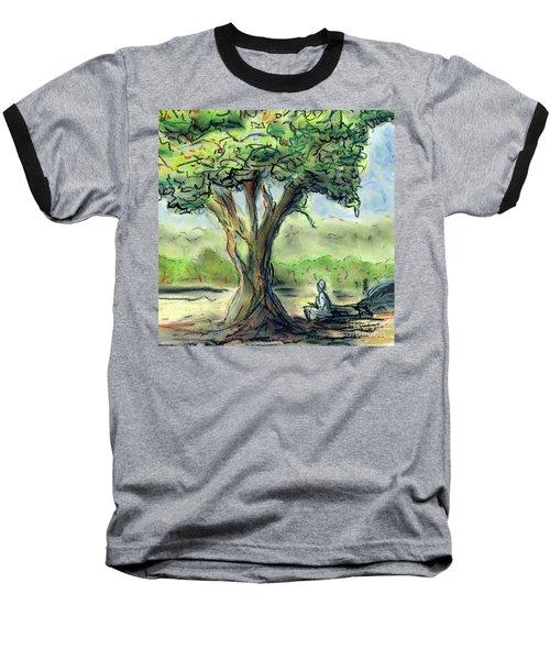 In The Shade Baseball T-Shirt