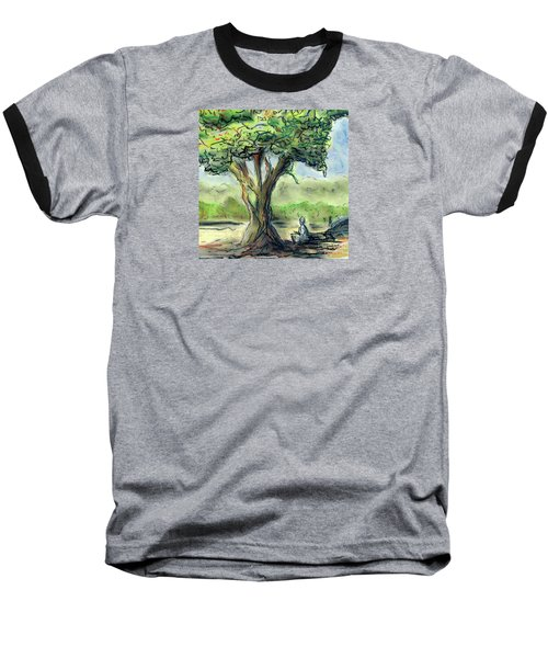 In The Shade Baseball T-Shirt