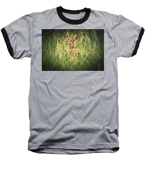 In The Tall Grass Baseball T-Shirt