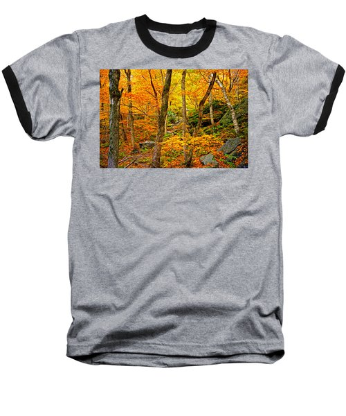 Baseball T-Shirt featuring the photograph In The Woods by Bill Howard