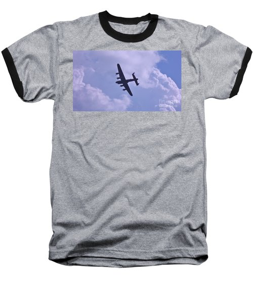 Baseball T-Shirt featuring the photograph In To The Clouds by John Williams