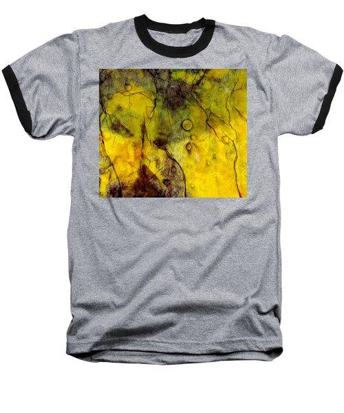 In Yellow  Baseball T-Shirt