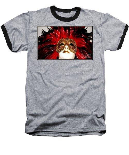 Incognito.. Baseball T-Shirt by Jolanta Anna Karolska