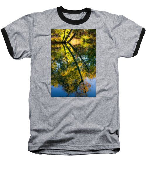 Incredible Colors Baseball T-Shirt by Parker Cunningham
