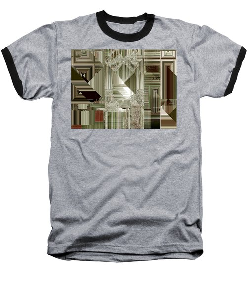 Baseball T-Shirt featuring the painting Indecision I by RC deWinter