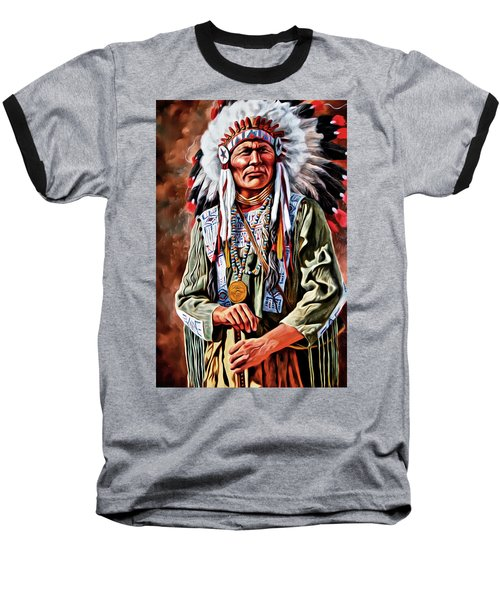 Indian Chief Baseball T-Shirt