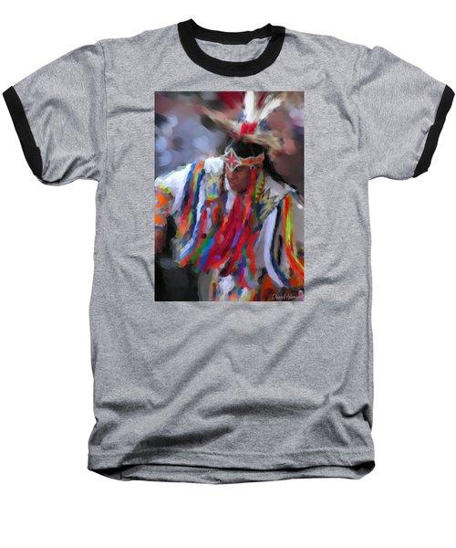 Da121 Indian Dance By Daniel Adams Baseball T-Shirt