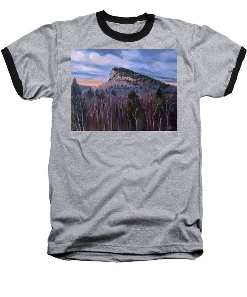 Indian Head In Lincoln New Hampshire Baseball T-Shirt