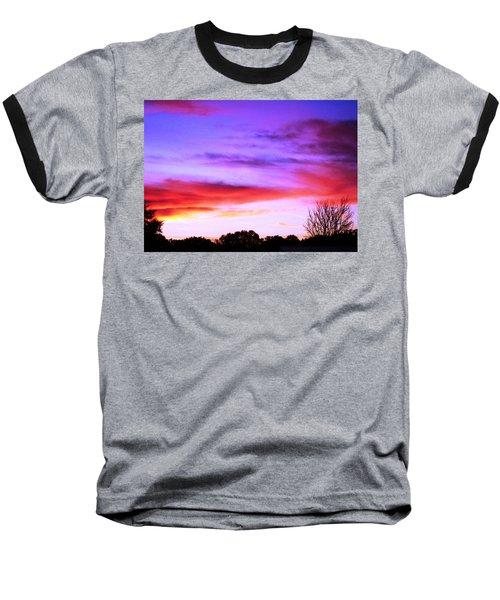 Indian Morning Sky Baseball T-Shirt