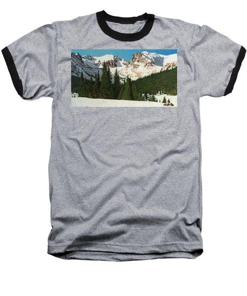Indian Peaks Winter Baseball T-Shirt