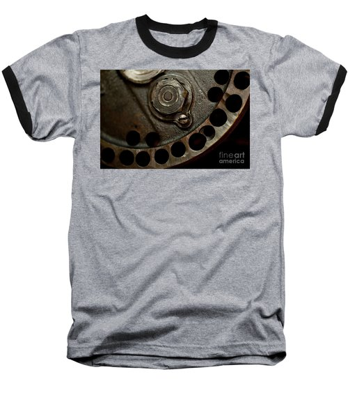 Indian Racer Crankshaft Fly Wheel Baseball T-Shirt