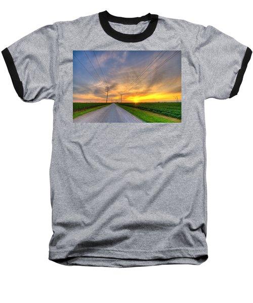 Indiana Sunset Baseball T-Shirt