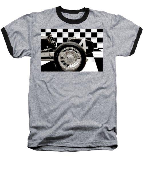 Indianapolis Motor Speedway Baseball T-Shirt by Gary Warnimont
