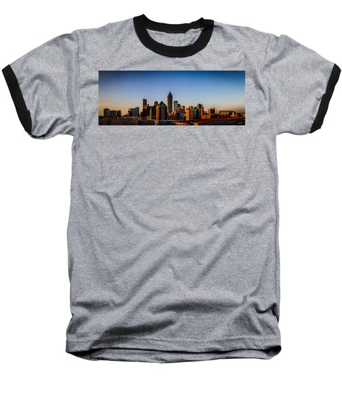 Indianapolis Skyline - South Baseball T-Shirt