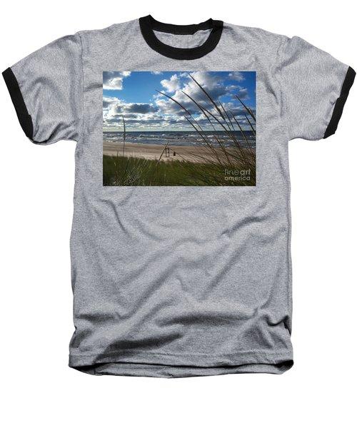 Indiana Dunes' Lake Michigan Baseball T-Shirt