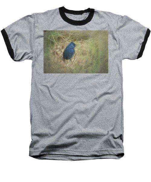 Indigo Blue Baseball T-Shirt