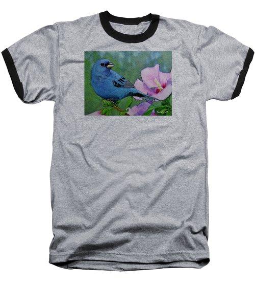 Indigo Bunting No 1 Baseball T-Shirt