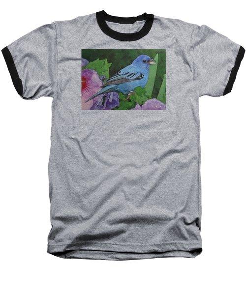 Indigo Bunting No 2 Baseball T-Shirt