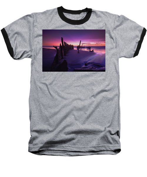 Indigo Dawn Baseball T-Shirt