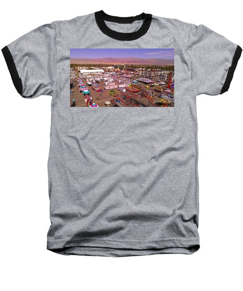 Baseball T-Shirt featuring the photograph Indio Fair Grounds by Chris Tarpening