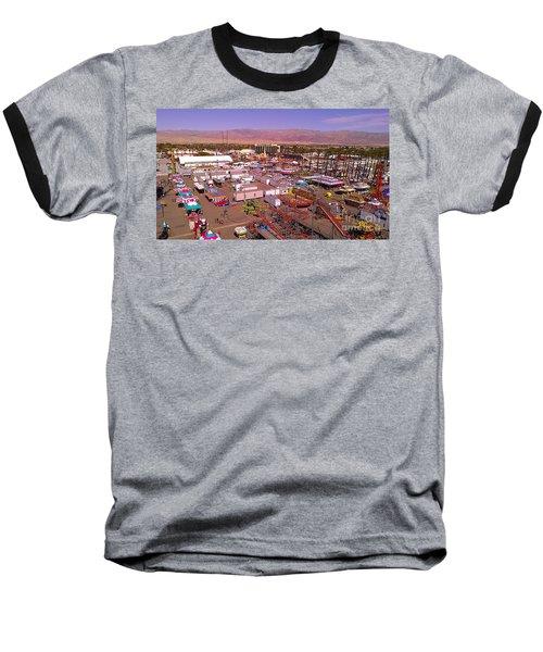 Indio Fair Grounds Baseball T-Shirt by Chris Tarpening