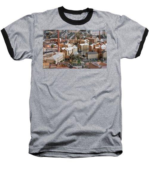 Industrial Town Miniature Model Baseball T-Shirt