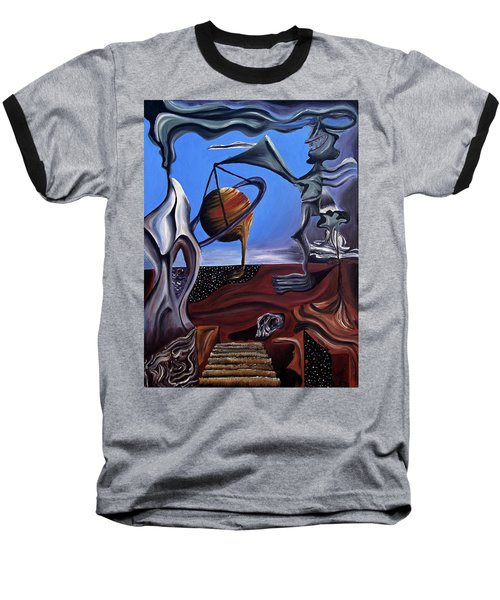 Infatuasilaphrene Baseball T-Shirt by Ryan Demaree