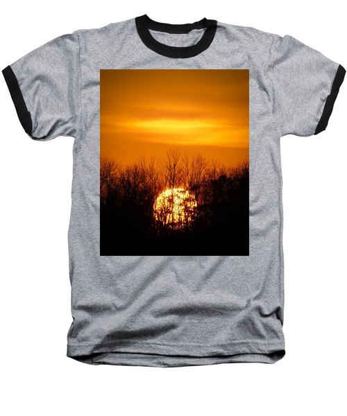 Inferno In The Trees Baseball T-Shirt