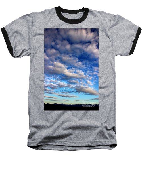 Influence Of Dusk Baseball T-Shirt by Michael Eingle