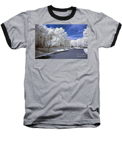 Infrared Road Baseball T-Shirt