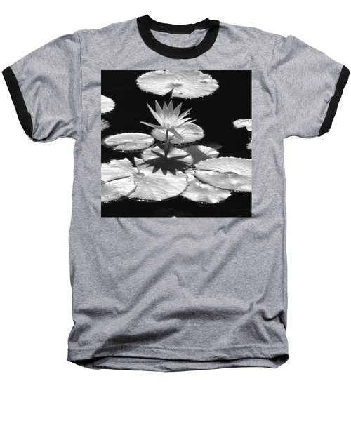 Infrared - Water Lily 02 Baseball T-Shirt