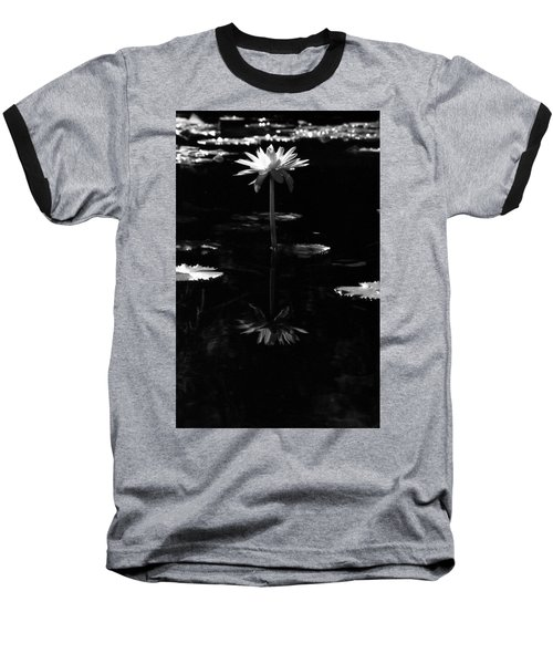 Infrared - Water Lily 03 Baseball T-Shirt