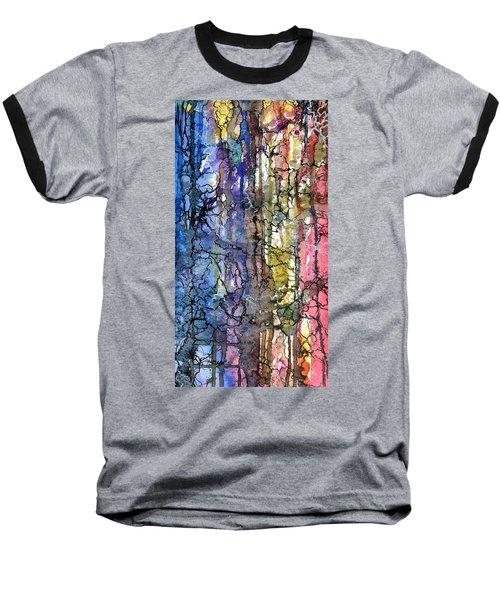 Ink Lines Baseball T-Shirt