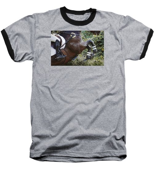 Inmidair Baseball T-Shirt by Joan Davis