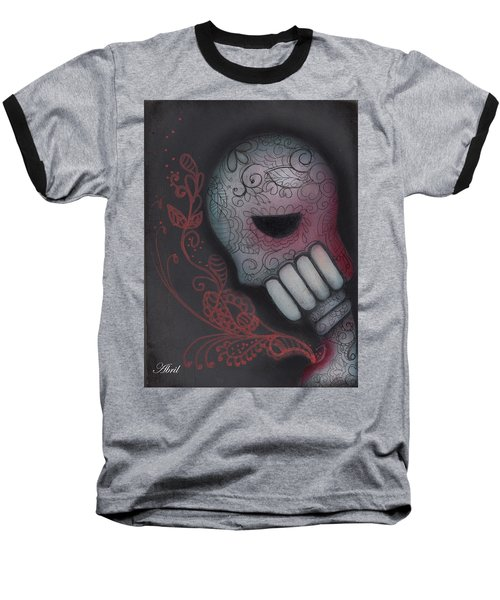 Inner Feelings Baseball T-Shirt by Abril Andrade Griffith