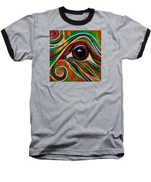 Inner Strength Spirit Eye Baseball T-Shirt by Deborha Kerr