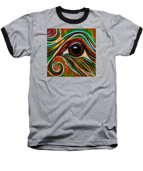 Inner Strength Spirit Eye Baseball T-Shirt