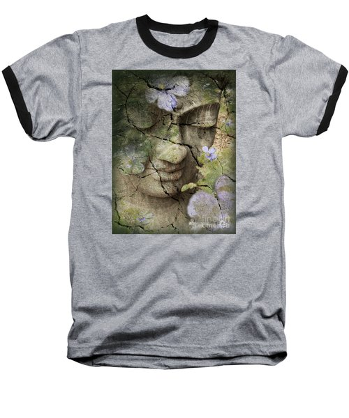 Inner Tranquility Baseball T-Shirt by Christopher Beikmann