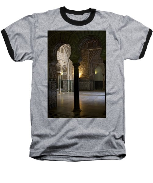 Inside The Alcazar Of Seville Baseball T-Shirt