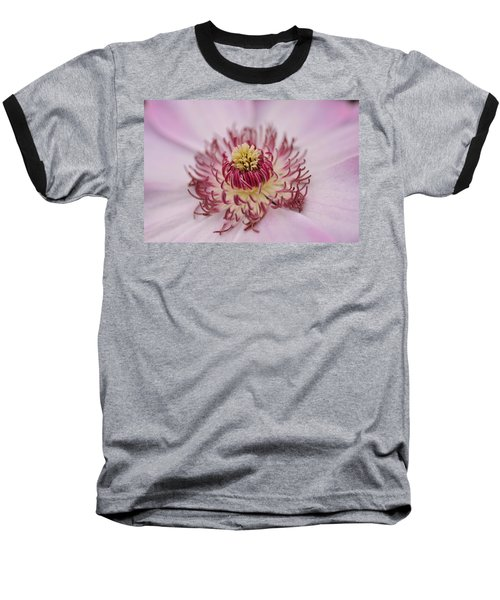 Baseball T-Shirt featuring the photograph Inside The Flower by Mike Martin
