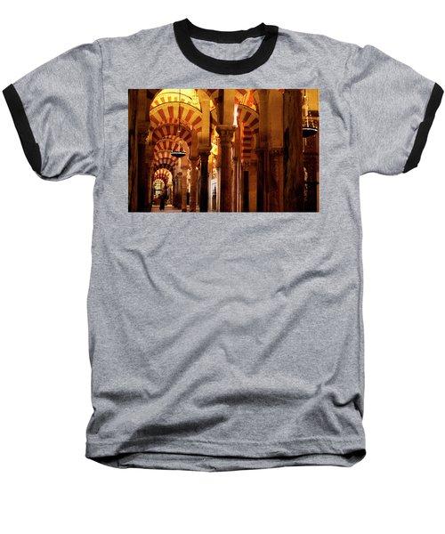 Inside The Mezquita Baseball T-Shirt
