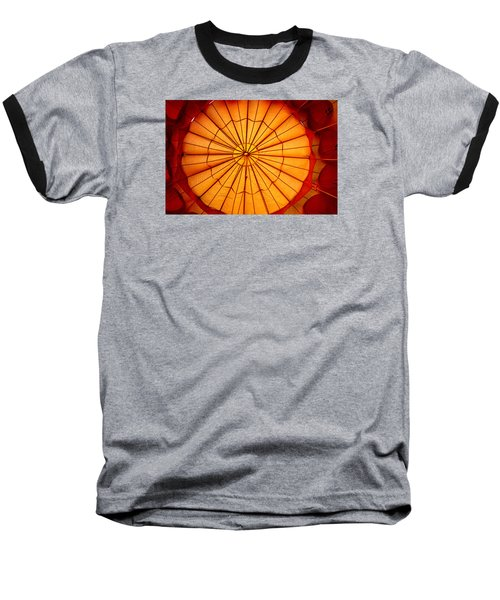 Baseball T-Shirt featuring the photograph Inside The Red Baloon by Nadalyn Larsen