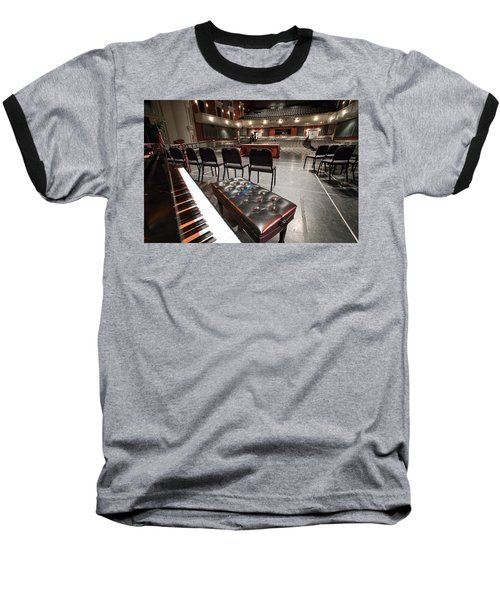 Baseball T-Shirt featuring the photograph Inside Theater by Alex Grichenko