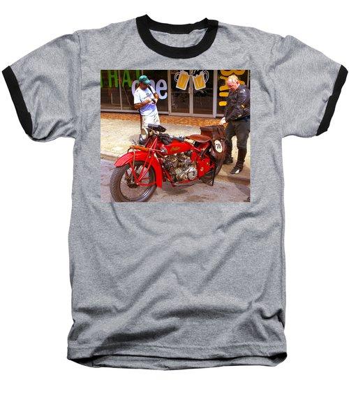 Inspecting Indian #70 Baseball T-Shirt