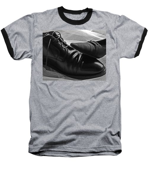 Baseball T-Shirt featuring the photograph Instep by Lisa Phillips