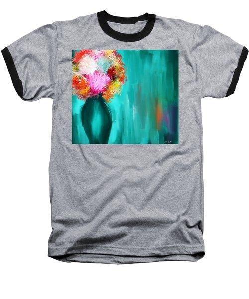 Intense Eloquence Baseball T-Shirt by Lourry Legarde