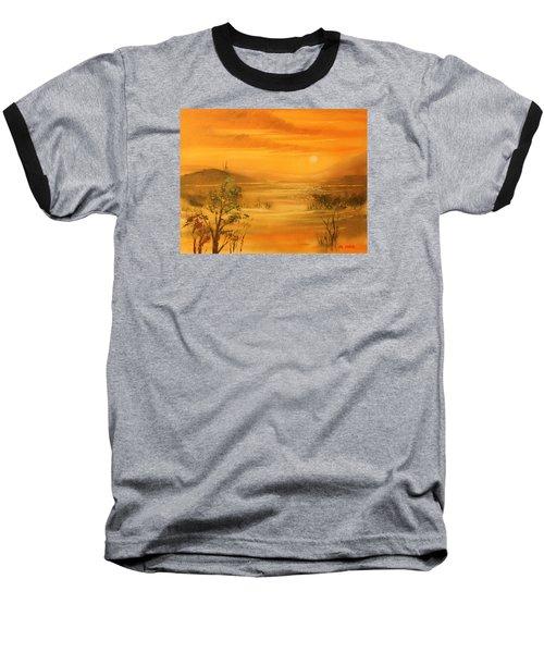 Intense Orange Baseball T-Shirt