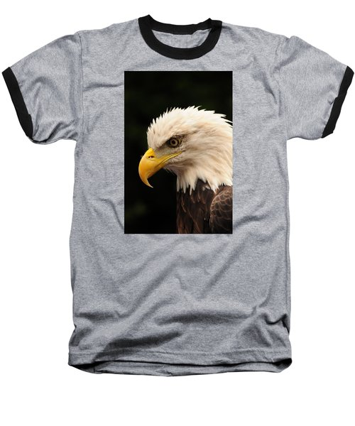 Baseball T-Shirt featuring the photograph Intense Stare by Mike Martin